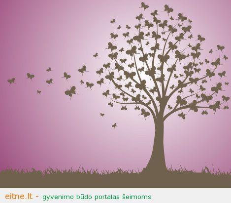 Pasaka nepasaka apie viltį ir medžius