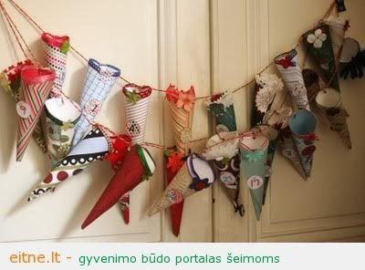 Idėjos namams: dar kelios advento kalendoriaus interpretacijos