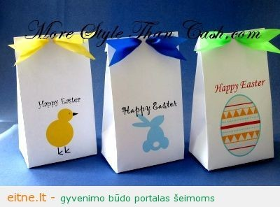 Velykų zuikio dovanų krepšeliai
