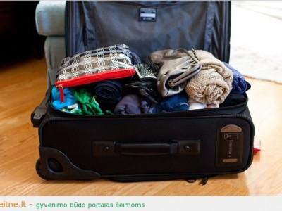 Kelionių patarimai: pakuojame lagaminus, kaip skrydžių palydovai