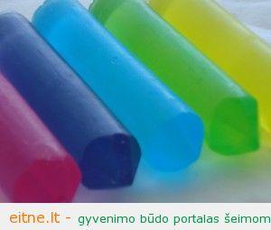 Žaidimams: vonios pieštukai