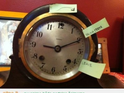 Mokome vaikus valdyti laiką