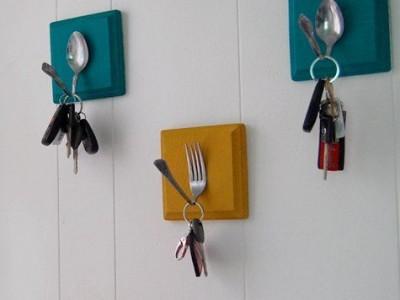 Idėja namams: raktų kabyklos virtuvei