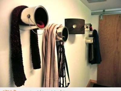 Idėja namams: Paltų kabykla kitaip
