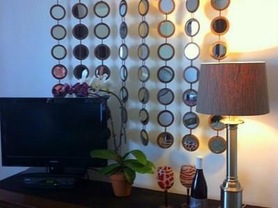 Idėja namams: dekoras veidrodėliais