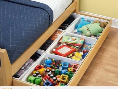Kaip naudingai panaudoti stalčių po vaikų lovele