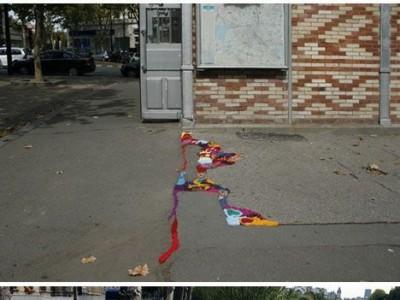 Paryžietės idėja, kaip gražiai užkamšyti gatvėse skyles