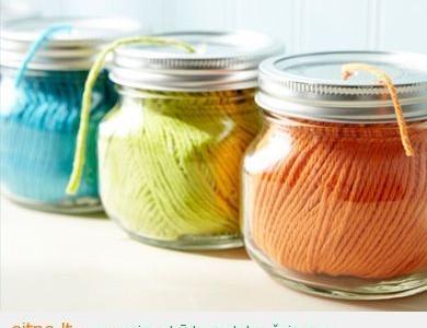 Namų ekologija: stiklainių panaudojimas namie