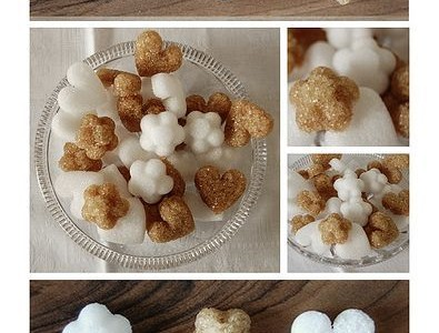 Eksperimentai virtuvėje: gabalinis cukrus