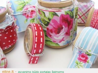 Rankdarbio idėja: spalvotos lipnios juostelės