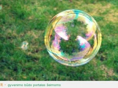 Muilo burbulai – ne tik linksma, bet ir naudinga!