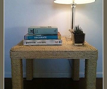 Idėja namams: naktinis staliukas