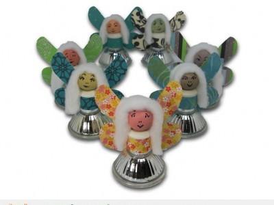 Darbeliai su vaikais: lėlytė iš halogeno lemputės
