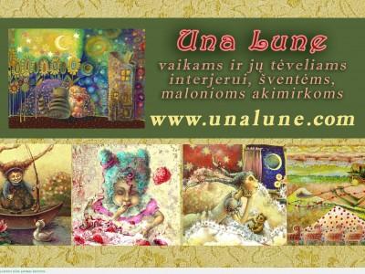 Talentinga viešnia: Una Lune (Ina Lukauskaitė)
