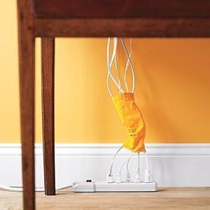 Pasimetusios kojinės, laidai ir… tvarka namuose