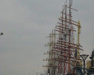 Burlaivių regata. Laivai