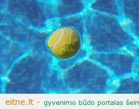 Valome baseiną su… teniso kamuoliuku