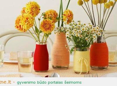Idėja namams: kaip sukurti vazas, tinkančias prie interjero