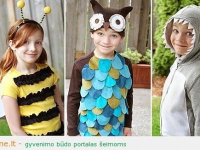 Rankdarbio idėja: trys nesudėtingi maskarado kostiumai