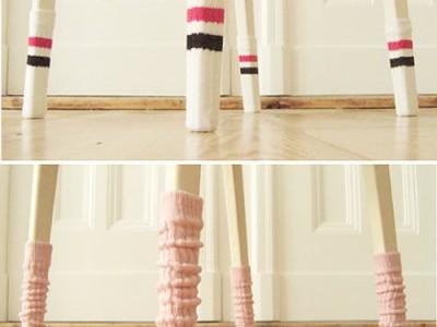 Idėja namams: baldai su kojinaitėmis