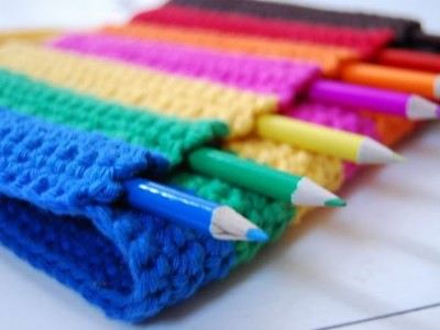 Idėja namams: nertinukai pieštukams