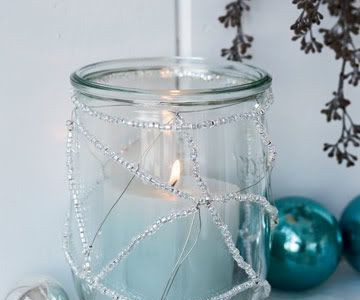 Idėja namams: žydrai baltos Kalėdos