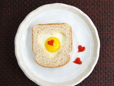 Valentino dienos pusryčių idėja