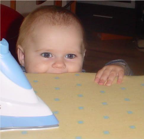 Ką moka dešimties mėnesių kūdikis