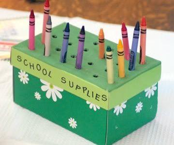 Idėja namams: dėžutė pieštukams
