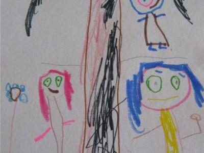 Ką reiškia vaikų piešiniai