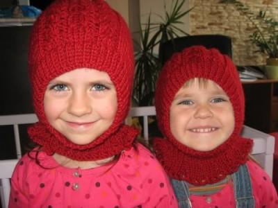 Mergaitiškas kepurės variantas