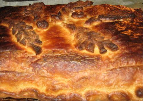 Mėsos ir varškės pyragas