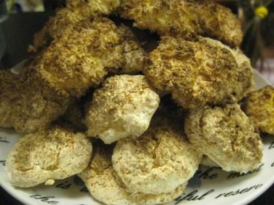 Penktadienio vakaras. Kokosiniai sausainiukai