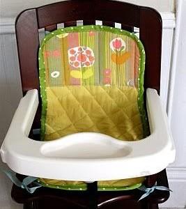 Idėja namams: įdėklas maitinimo kėdutei