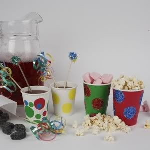 Idėja namams: linksmos stiklinės vaikų šventei