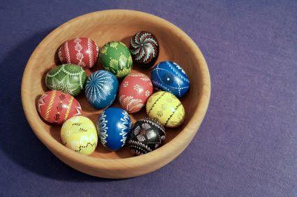Kiaušinių marginimo būdai pagal Marthą