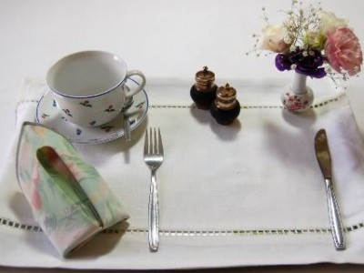 Idėja namams: graži stalo serviruotė mamai