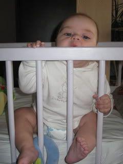 Ką moka  šešių mėnesių kūdikis