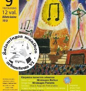 Dovanojame kvietimą į Žaismingos muzikos orkestro koncertą