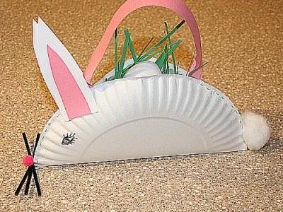 Idėja namams: Krepšelis velykiniams kiaušiniams
