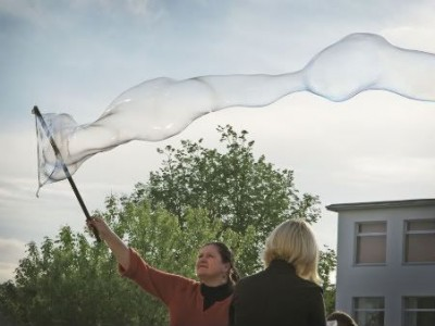 Burbuliatorius 2010. Atidarymas Gargžduose
