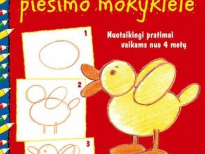 Knygų lentyna: Didžioji vaikų piešimo mokyklėlė