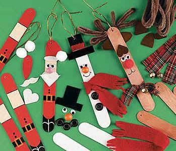 Idėja namams: kalėdinės dekoracijos iš ledų pagaliukų