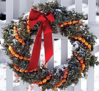 Idėja namams: Oranžinės Kalėdos
