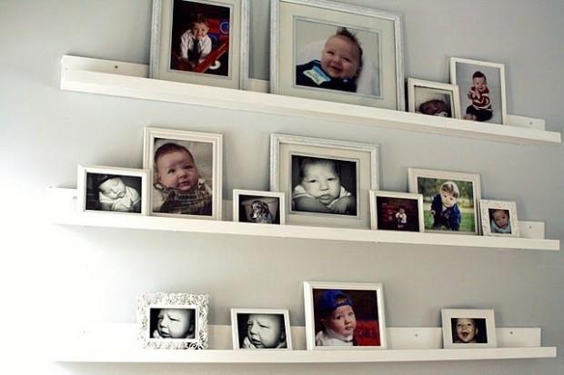 Idėja namams: lentyninė galerija