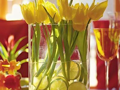 Idėja namams: kelios improvizacijos tulpių tema