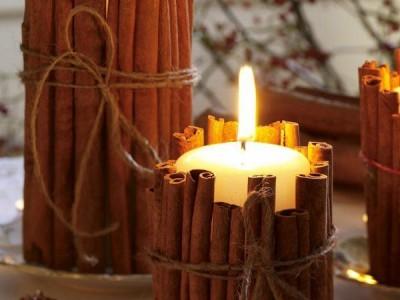 Idėja Kalėdoms: žvakių magija šventėms