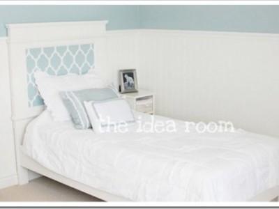 Idėja namams: lova mergaitei
