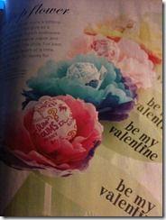 Valentino dienos dovanos idėja: gėlės iš servetėlių