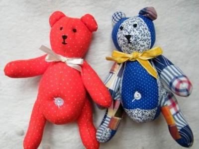 Gaminame žaislus:meškutis arba svečiuose pas Donatą